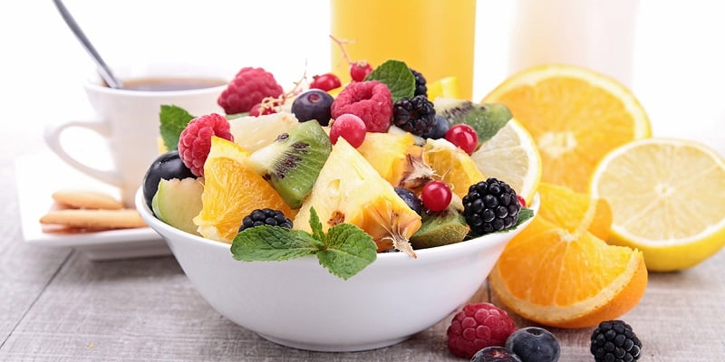 Fruits for healthy breakfast