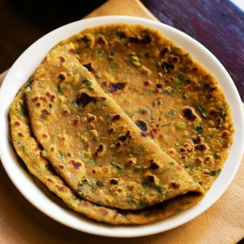 Healthy Vegetable Parathas