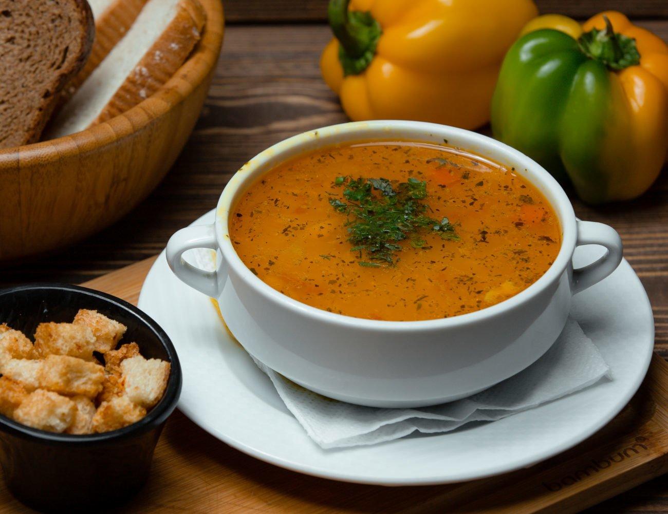 Mixed Vegetable Lentil Soup