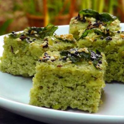 Sprouts Dhokla recipe