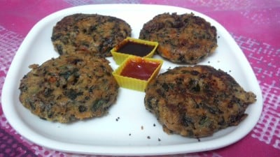 Steamed Palak Vada