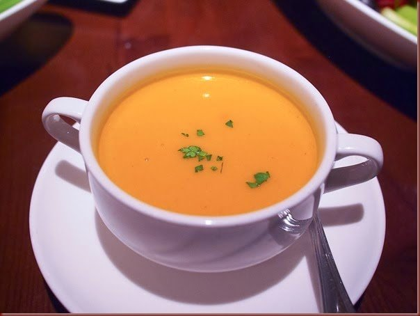 Pumpkin Soup – Roman Style