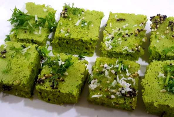 Sprouts Dhokla