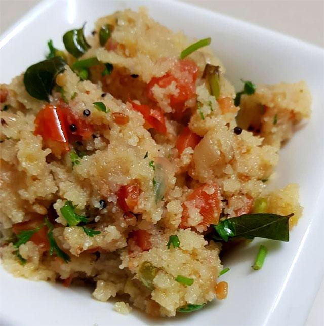 Vegetable Upma